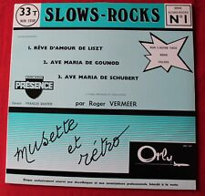 Roger Vermeer - slows rocks / Emilie Decotty - valses, LP - 33 Tours Promo