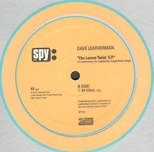 Dave Leatherman – The Lemon Twist E.P. - Spy Rec – SPY03 - Ita 1999