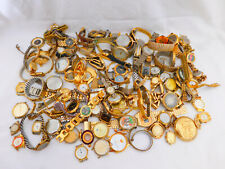 2.5KG Bulk lot of Vintage Gents & Ladies Gold Filled Plated Wristwatches Rare
