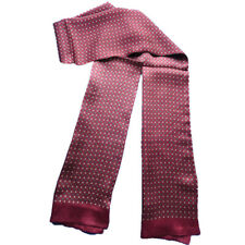 9ee377d11552e Men 100% Pure Mulberry Silk Scarf Double Layer Warm Neckerchief 160cm*28cm  GRAY