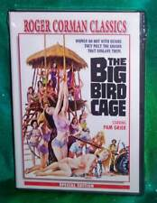 NEW RARE OOP ROGER CORMAN CLASSICS PAM GRIER THE BIG BIRD CAGE MOVIE DVD 1972