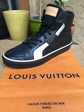 AUTH LOUIS VUITTON MENS SHOES SNEAKERS LV MONOGRAM US SIZE 11 MADE IN ITALY