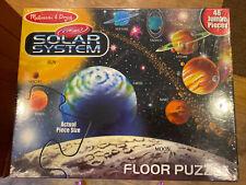 Melissa & Doug Solar System Floor Puzzle - 48 Pieces 2'x3'. Factory Sealed