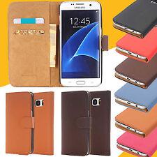Samsung Galaxy S5 Handy Tasche Hülle Flip Case Schutzhülle Kunstleder Cover Etui