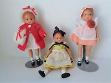 New Listing3 Effanbee Wee Patsy Patsyette Dolls One with Pin Winter Outfit Yellow Dress