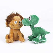 2PCS/SET The Good Dinosaur Spot & Arlo Plush Doll Soft Stuffed Animal Toy 8""