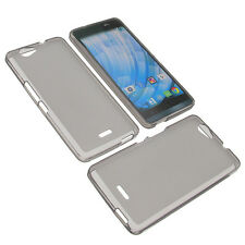 Case for Wiko Getaway Cellphone Case Protective Cover TPU Rubber Grey