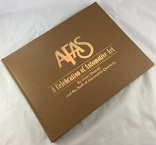 Signed by 24 Artists Limited Edition AFAS Celebration of Automotive Art Car Book
