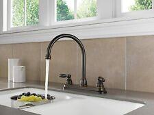 Peerless P299565LF-OB Apex Two Handle Kitchen Faucet, Oil Bronze