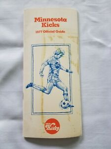 1977 MINNESOTA KICKS MEDIA GUIDE Yearbook Program NASL ALAN WILLEY WEST MERRICK