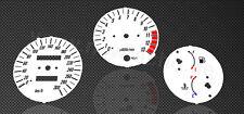 Kawasaki ZRX1200S Tachoscheiben Tacho Gauge plates dial 1200S ZRX speedo kmh