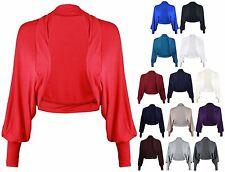 Women's Cropped Boleros Shrugs Jersey Jumpers & Cardigans