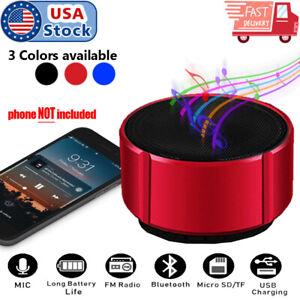 Wireless Bluetooth Mini Super Bass Speaker For Phone Tablet Laptop PC