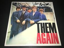 Van Morrison SIGNED Them Again LP Album Vinyl Astral Weeks PROOF