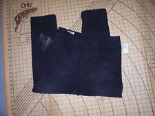WOMENS SIZE 32 BLACK LONG/DROP CROTCH MAN X ONETEASPOON STRESSED JEANS - NWT