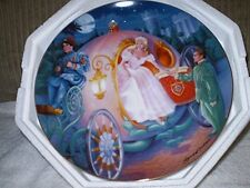 "Franklin Mint ""Cinderella's Magical Journey"" Plate Collection"