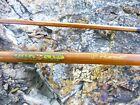Vintage 7 Horrocks Ibbotson Genuine Tonkin Cane Bamboo POCONO Fly Rod 2 Pc