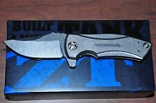 Kershaw Zero Tolerance ZT 0900 Les George Titanium Flipper Knife Made in USA New