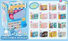 HOT Sanrio Japan Cinnamoroll Gashapon Machine Mini Memo Book Set