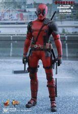 Hot Toys Deadpool 1/6 Figure Sideshow Movie Masterpiece 902628 New UK