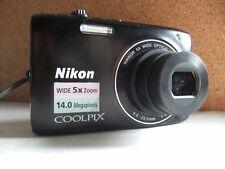 Nikon COOLPIX S3100 14.0MP Digital Camera - Black