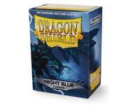 Night Blue Classic 100 ct Dragon Shield Standard Sleeves SHIPS FREE 10% OFF 2+