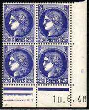 Coin daté Cérès n° 375A du 10/6/1940 **
