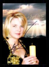 Sammeln & Seltenes Angela Wiedl Autogrammkarte Original Signiert ## Bc 10511