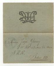 tirailleur 14-18 France marque postale armée sur lettre de 1918 /TSL140