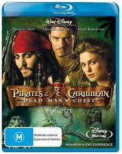 Pirates Of The Caribbean - Dead Man's Chest (Blu-ray, 2007)