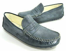 PRIMIGI BRAD 1-E LOAFER SP11 SLIP-ONS DENIM (4323477) EUR SZ 40 US SIZE 7 MEDIUM