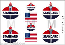 NEW PEEL AND STICK HO SCALE STANDARD OIL TANKER TRUCK MODEL DECALS HOSTO1