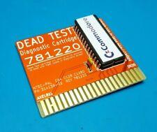 DEAD TEST COMMODORE 64 128  DIAGNOSTIC cartridge 781220 - DIAGNOSTICA - GOLD
