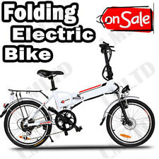 20'' Electric Bike Folding E-Bike City Bike Damping Bicycle Shimno Cycling Brand