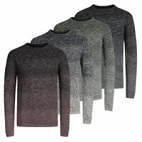 Mens Jumper JACK & JONES Fuel Knitted Crew Neck Pullover Sweater