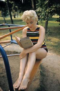 """Marilyn MONROE MAGNUM SQUARE PRINT EVE ARNOLD ESTATE STAMPED Ltd 6"""" x 6"""""""