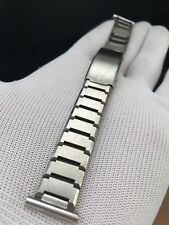 "Bracelet Montre Cocodrilo Genuino Burgundy 15mm /"" New Old Stock"
