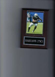 MARSHAWN LYNCH PLAQUE OAKLAND RAIDERS LA FOOTBALL NFL