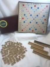 Vintage 1948 1955 Scrabble Board Game Selchow Righter Complete No Instructions