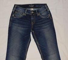 "Silver Jeans ""Suki Surplus"" Boot-Cut Jeans Women's 26x32 EUC"