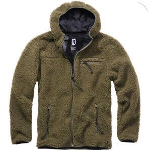 Brandit Herren Teddy fleece Jacke sweatjacke Übergangsjacke Outdoor Winterjacke