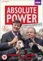 Absolute Power: The Complete Series DVD (2017) Stephen Fry, Morton (DIR) cert