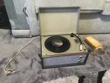 PHILIPS NG.5051 VINTAGE RECORD PLAYER Untested