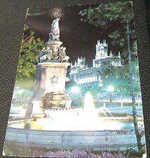 Spain Madrid Prado Walk Fountain of the Shells 91 Garcia Garrabella - used 1964