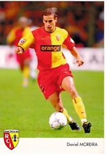 FOOTBALL carte joueur DANIEL MOREIRA équipe RC LENS