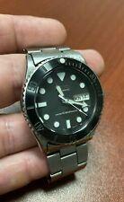 "Seiko SKX031J ""Submariner"" 7S26-0040 Original Oyster Bracelet Diver Mod #451413"