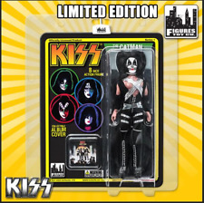"""KISS Love Gun 8"""" Action Figure The Catman With Updated Head Sculpt Variant New"""