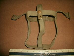 WW2 37 pattern webbing water bottle cradle MECo 1940 single over strap version
