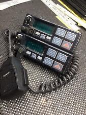 Ma Com Mobile Radio Control Head Kry101163212 2 Heads 1 Mic