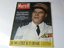 Paris Match 85 du 4/11/1950-Gél Juin-La tragédie indochinoise